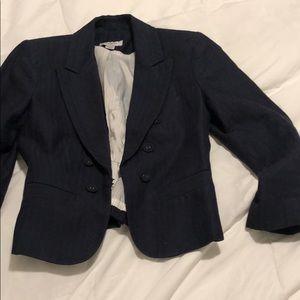 Navy blue loft blazer